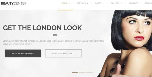 Beauty Salon and Spa – MegaMenu WordPress Theme
