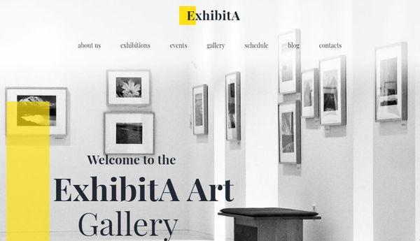 ExhibitA – Appointment Booking WordPress Theme