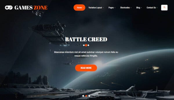 Game Developer – Mobile Friendly WordPress Theme