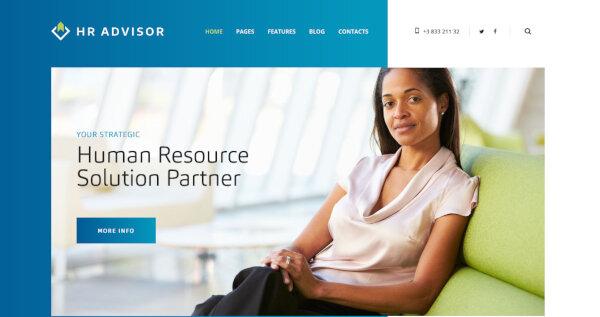 HR Advisor – One-click Demo WordPress Theme