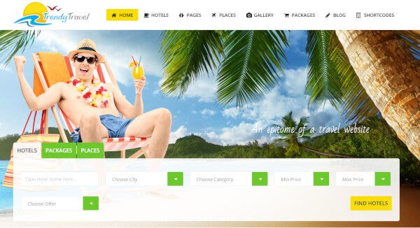 11 trendy travel a complete travel agency travelweb theme