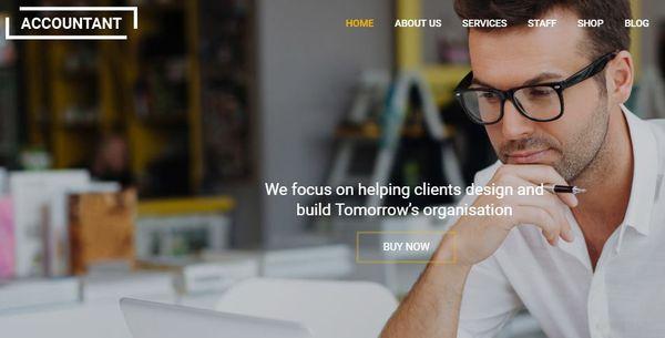 Accountant – Plugins Ready WordPress Theme