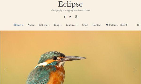 Eclipse – Image Compatible WordPress Theme