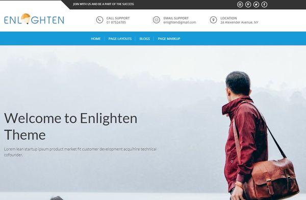 Enlighten Pro – Multiple Layout WordPress Theme