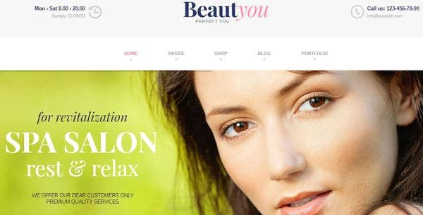 BeautYou – Booking WordPress Theme