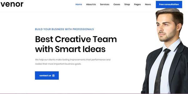 Venor – Sweet-Themes Shortcodes WordPress Theme