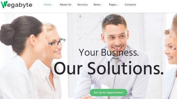 WegaByte – Cherry Services WordPress Theme