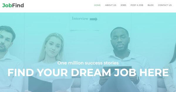 12 job find – job board wordpress theme