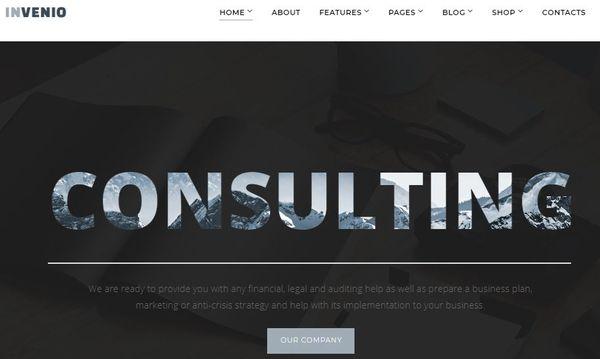 Invenio – Mobile Friendly WordPress Theme