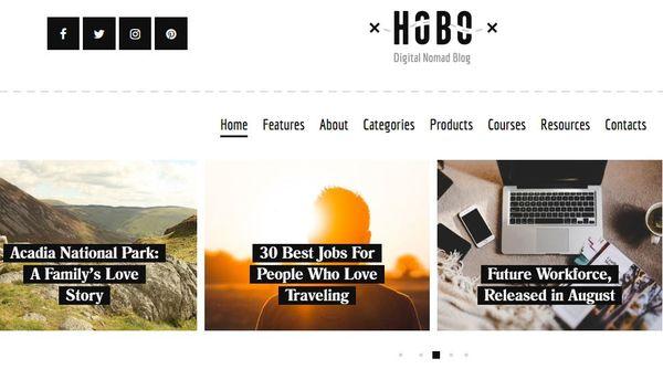 Hobo – Search & Filter WordPress Theme