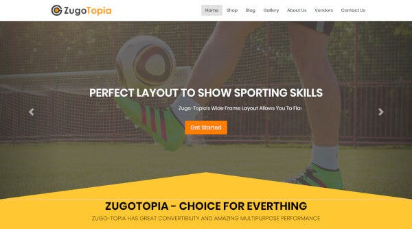 ZugoTopia – Multi Merchant Plugin Optimized WordPress Theme