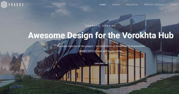 Architecture Prague – Visual Composer Powered WordPress Theme