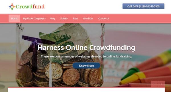 13 crowdfunding wordpress theme