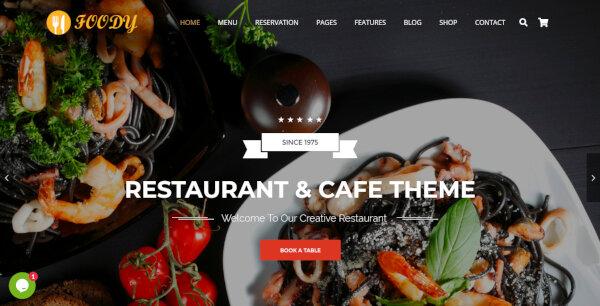 Foody – E-commerce WordPress Theme