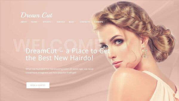 DreamCut -Cherry Plugins Enabled WordPress Theme
