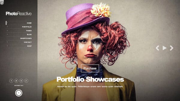 PhotoReactive – WPML Ready WordPress Theme