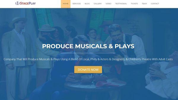 StagePlay – Full Screen Slider WordPress Theme