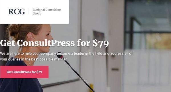 ConsultPress – Mobile-Friendly WordPress Theme