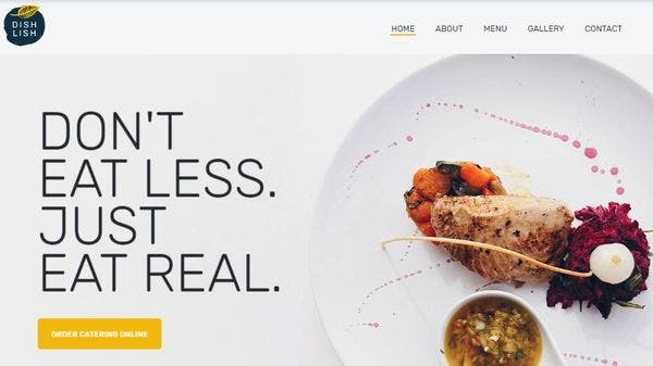 Dishlish – JetBlock Widget Customized WordPress Theme