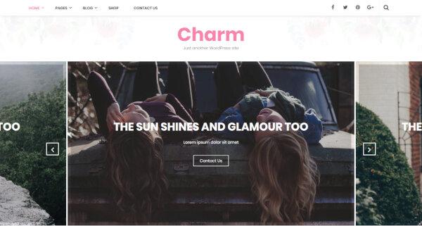 Charm – Multilingual WordPress Theme