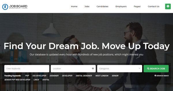 Job Board – WPML Ready WordPress Theme