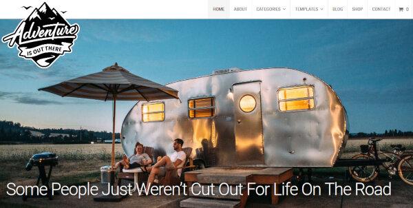 Adventure – Slideshow WordPress Theme