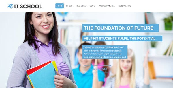 LT School – LayersWP WordPress Theme