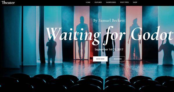 Theatre – Sell Tickets Online Plugin WordPress Theme