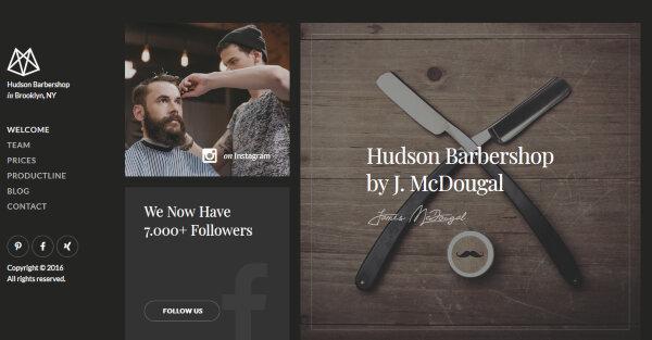 Hudson - Retina-Ready WordPress Theme