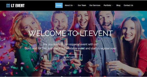 LT Event – Bootstrap WordPress Theme