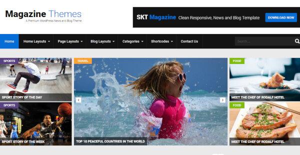 Magazine Pro – Grid View WordPress Theme