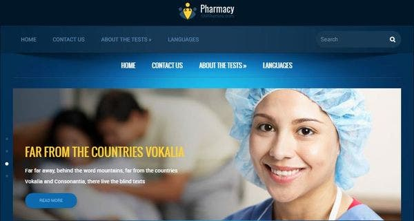 Pharmacy – Map Ready WordPress Theme