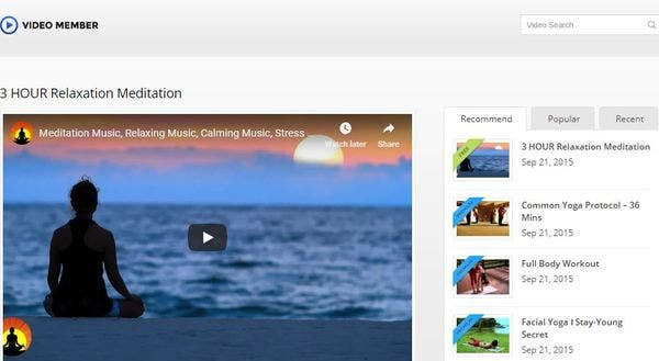 Video Member – Video WordPress Theme