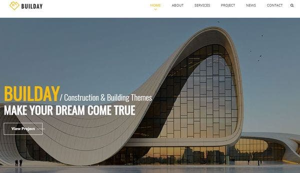 Builday - Modern Architech And Building WordPress Theme