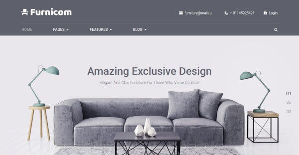 Furnicom – Cherry Framework 4 WordPress Theme