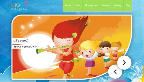 16 kiddz – wordpress kindergarten theme