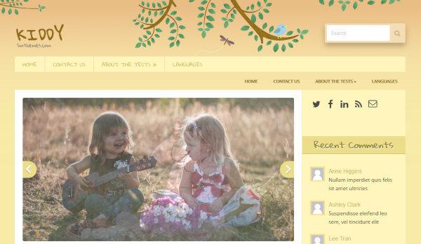 Kiddy – SEO WordPress Theme