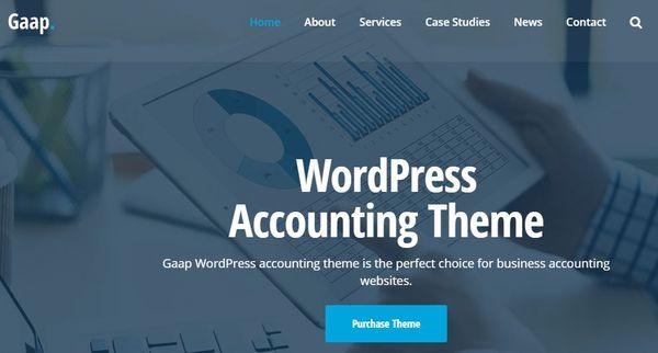 Gaap – SiteOrigin Page Builder WordPress Theme