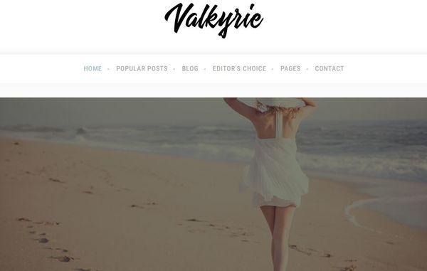 Valkyrie – Video WordPress Theme