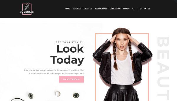 Juventas – Live Customizer Incorporated WordPress Theme