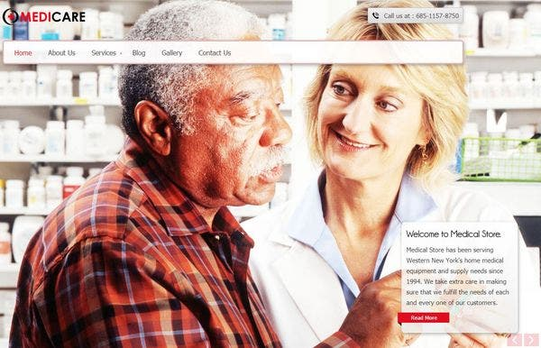 MediCare – Multiple Skin Color WordPress Theme