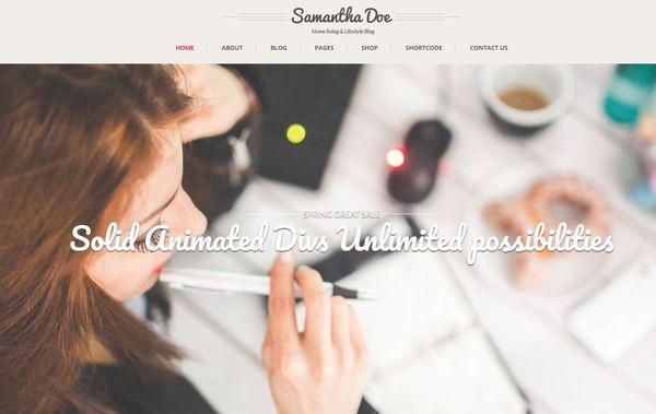 Girlie Pro – Customizable WordPress Theme