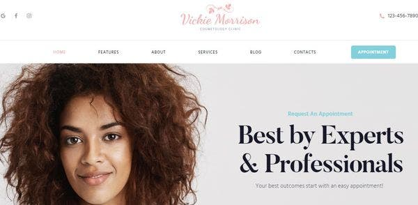Vickie Morrison – One Click Demo Import WordPress Theme