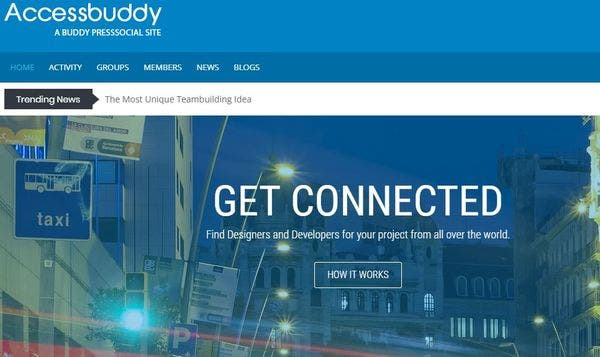 AccessBuddy – Message Facility Enabled WordPress Theme