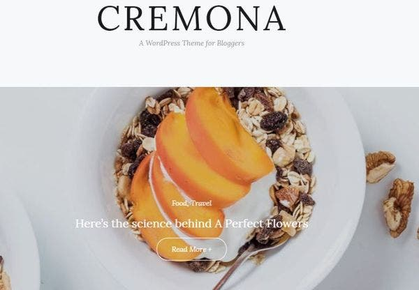 Cremona – Mobile Friendly WordPress Theme