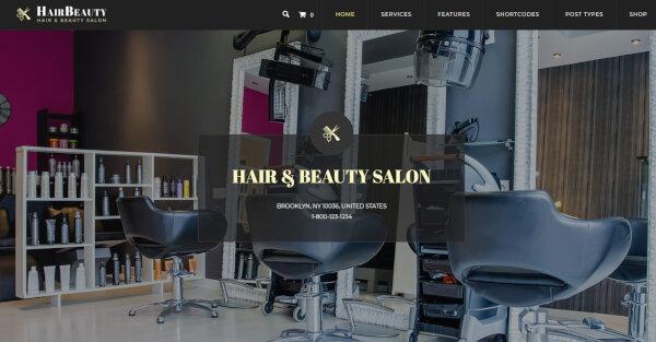 Hair Beauty- Slider Ready WordPress Theme