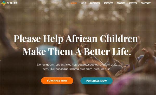 Chiller – SEO Friendly WordPress Theme