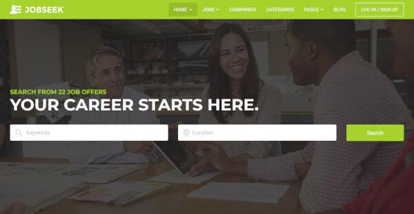 Jobseek – FacetWP Filters WordPress Theme