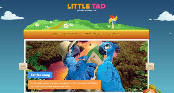 18 smthemes demo littletad