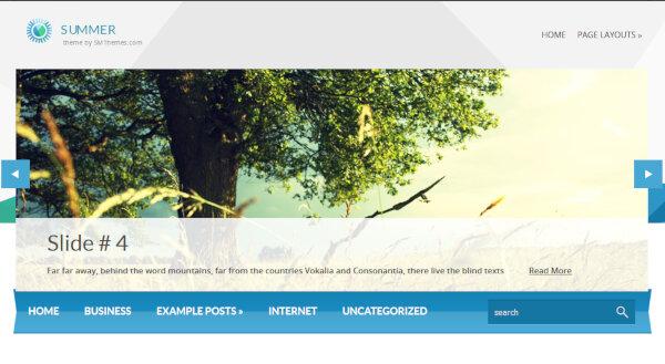 Summer – WooCommerce WordPress Theme